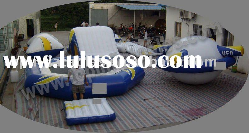 2011 inflatable water trampoline, water sport equipment, summer water park fun toy