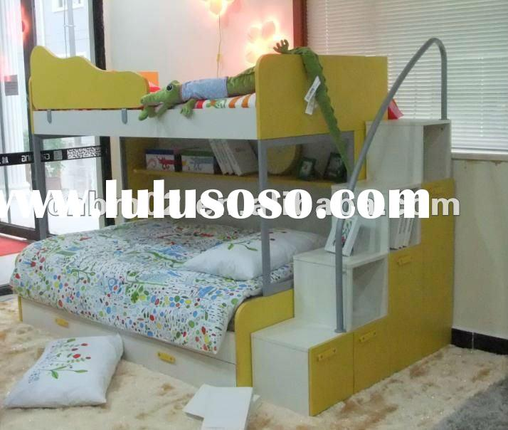 2011 most popular children kids bunk bed furniture castle