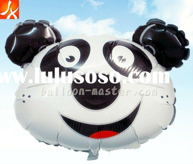 2011 new fashion panda high quality foil(mylar)balloon party decoration&professional gift toys!