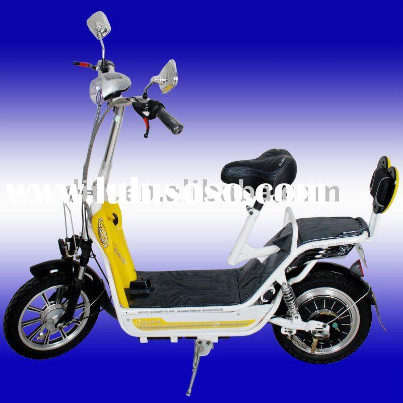 2011 new lithium battery 48v 14ah 350w electric scooter model