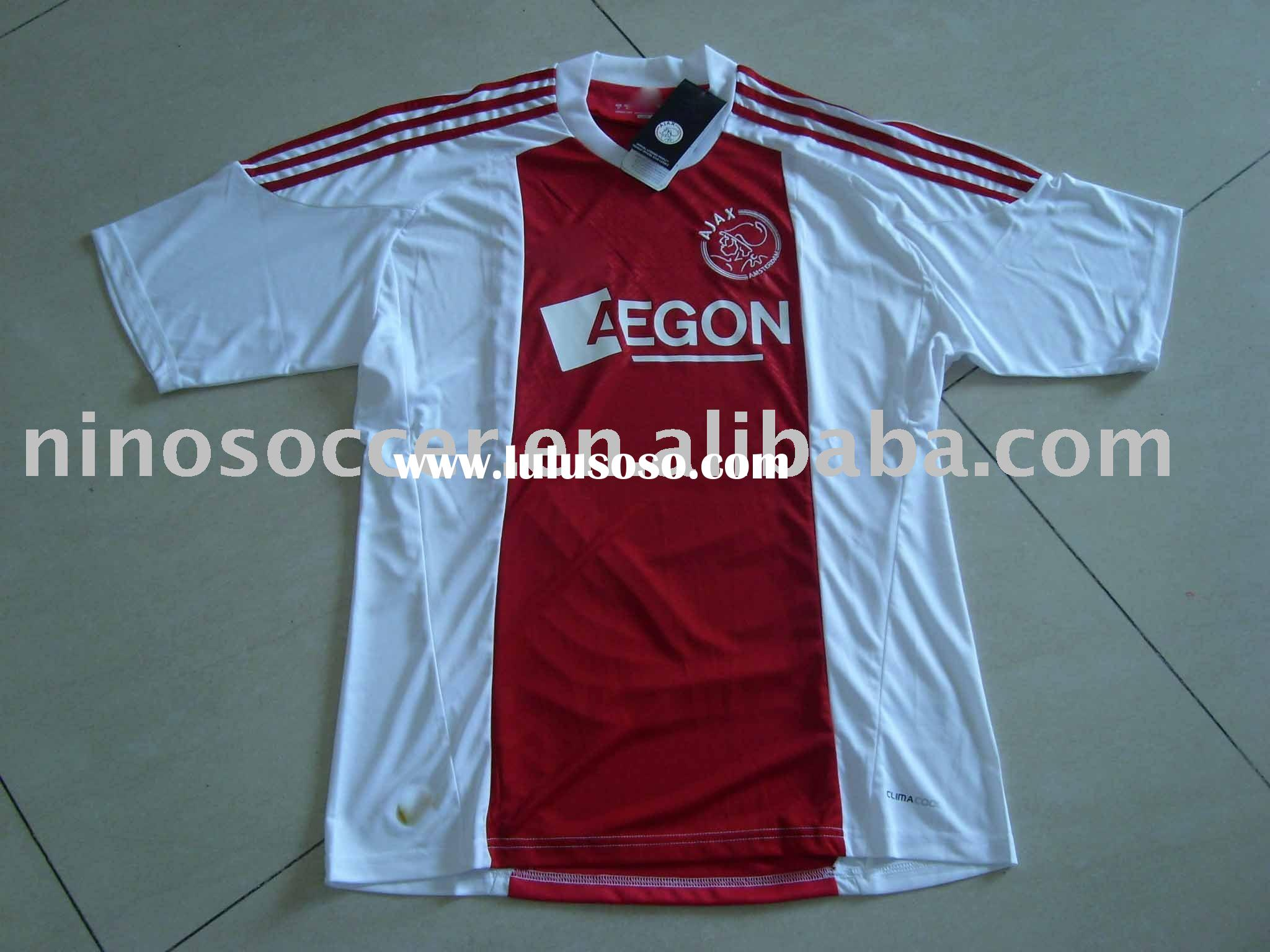 2011 new season AJAX soccer jersey Thailand qualtiy jersey, new season club jersey, new football jer