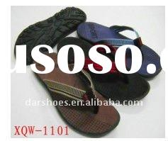 2011 new styles men slipper stock shoes