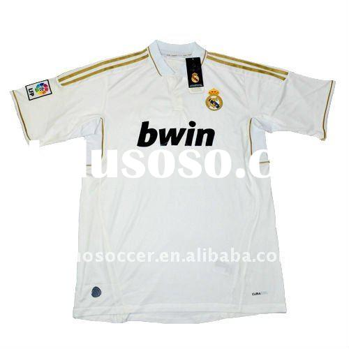 2011 real madrid thailand quality Soccer jersey uniforms