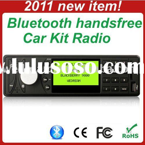 2011 style Bluetooth Car MP3 Radio with SD and USB