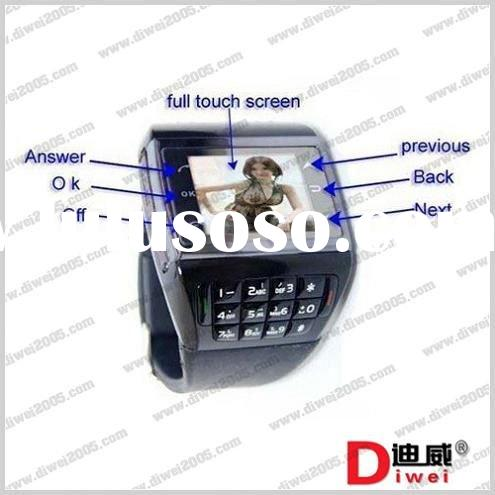 2011 watch phone ET-2 with dual sim card