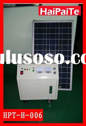 2012HaiPaiTe portable solar power system with 180W solar panel