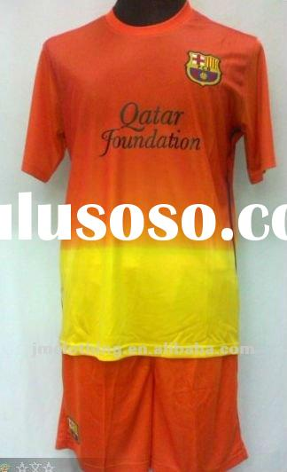 2012-2013 seasoon away barcelona soccer jersey