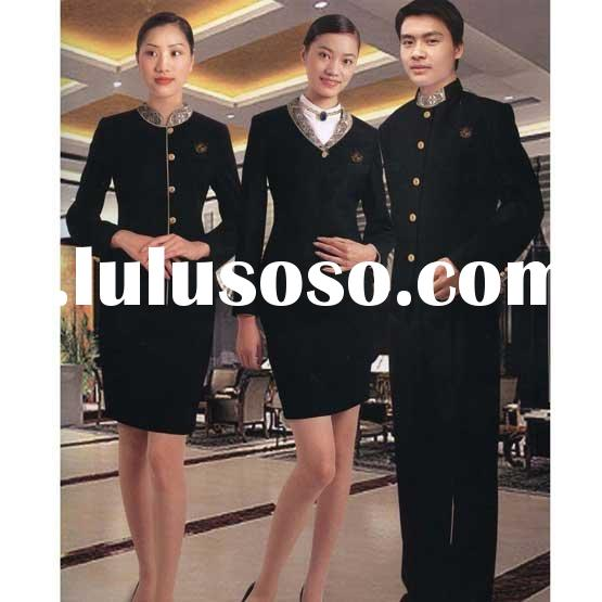 2012 Custom order Receptionist Formal Suit- Hotel Uniforms