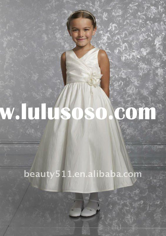2012 Latest Lovely A-line Tulle Flower Girl Dress FGZ69
