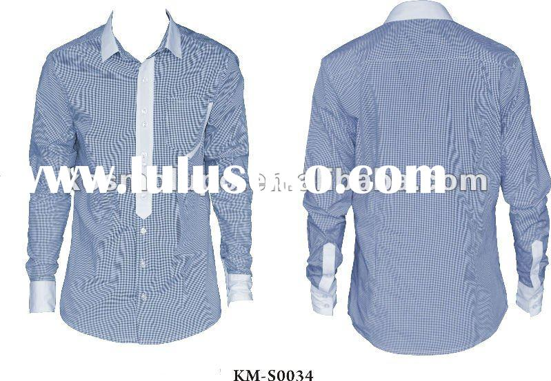 2012 Latest Men's Fashion Shirt ,Made In China ,Italy Designer