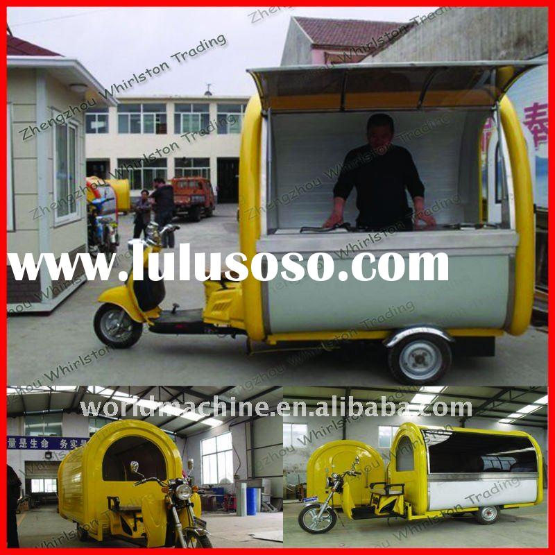 2012 New Style Mobile Food Vending Carts for Sale