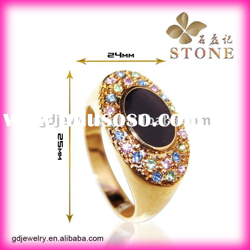 2012 New design Fashion Gold Wedding Rings