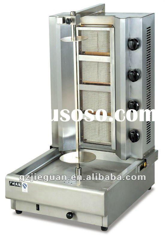 2012 Year New Design Stainless Steel Gas Doner Kebab Grill(GB-950)(4 burners)