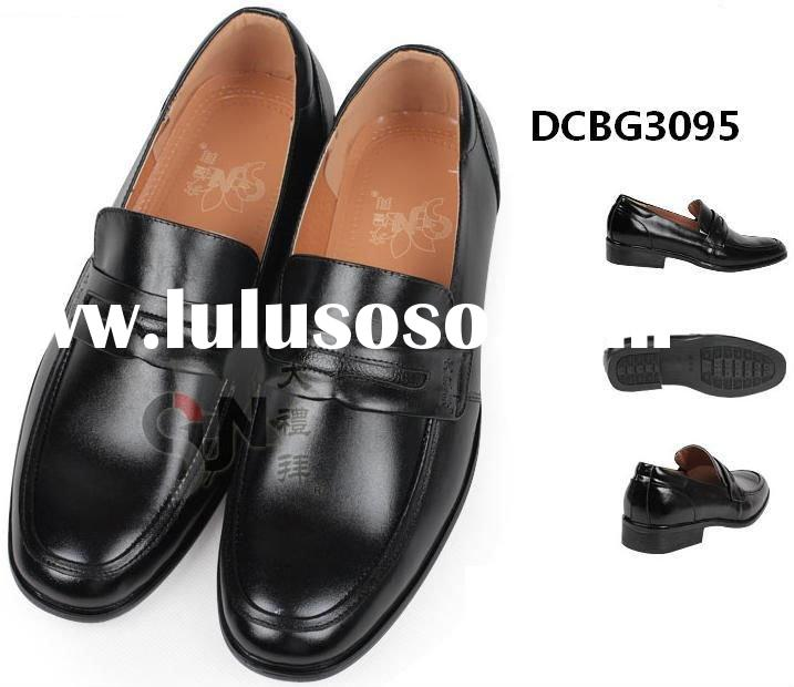 2012 brand men leather shoe with casual design