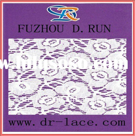 2012 new Swiss lace fabric painting design for wedding dresses