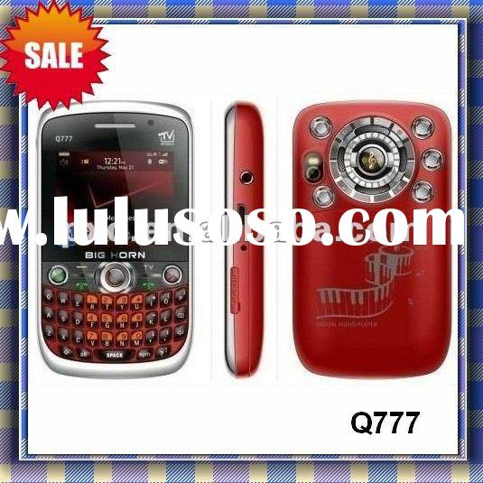 2012 new cell phone Q777/3 sim card mobile phones/tv mobile phone