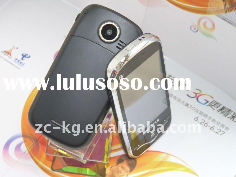 2012 new style and dual sim andriod gps mobile phone