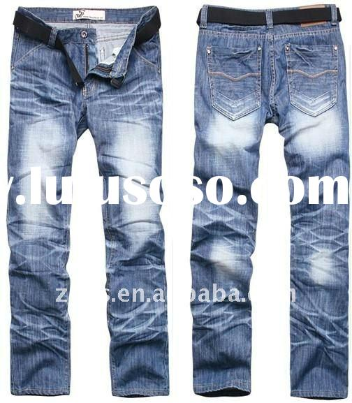 2012 newest design fashion denim men's jeans