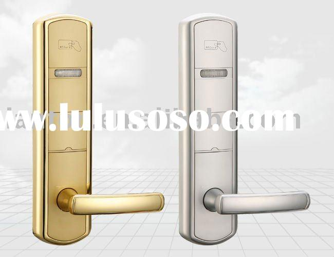 2012years new five star hotel locks with RF card