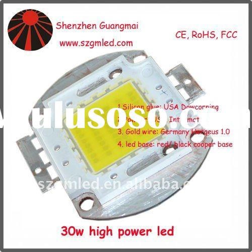 20w red, green, blue, yellow high power led