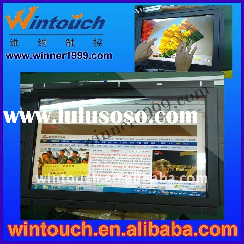 "22"" Rackmount LCD, Industrial Touch Screen Monitor Open frame IR/SAW/Capacitive/resistive touch"