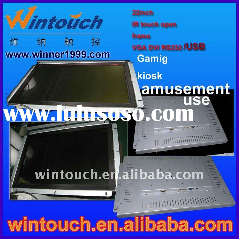 "22""open-frame saw touch screen vending touch screen open frame, touchscreen display, totem kios"