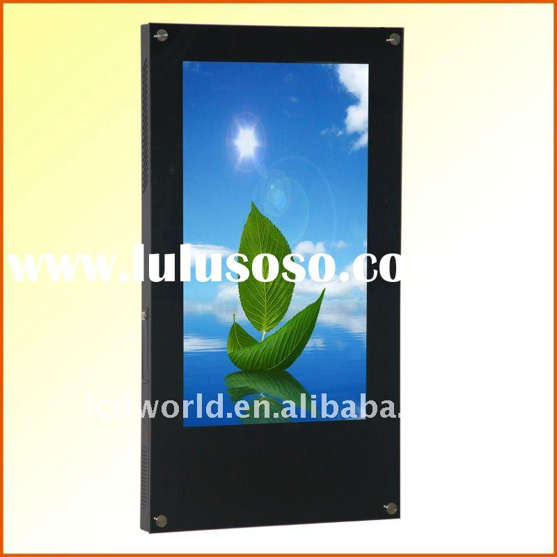 "26"" inch wall mounting Advertising player with calendar setting"