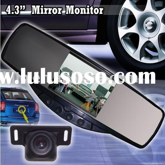 2.4GHz Car Wireless Mirror Monitor(Car Wireless Rear View Camera,Car Security)