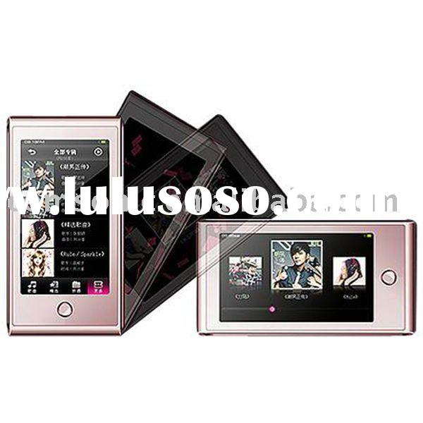 2.4 inch MP4 Player with card slot and touch screen G-Sensor 1GB/2GB/4GB/8GB MP4/ MP5/ FM/ MTV/RM sl