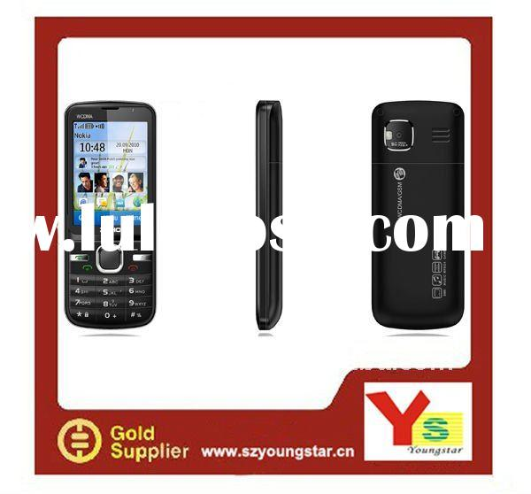 2.4'' touch screen 3G WCDMA+GSM dual sim cards WIFI mobile phone W306T