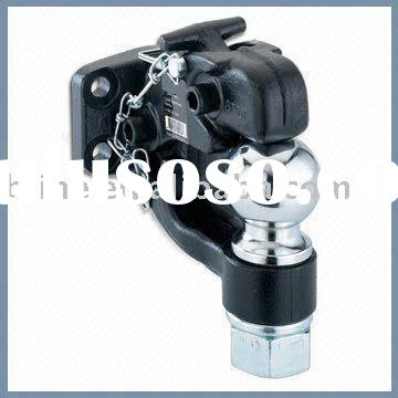 2 5/16-inch Chrome Hitch Ball Pintle Combo, Available in Black-painted Finish
