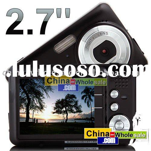 "2.7"" TFT LCD 12MP 8X Zoom Video Recorder Digital Camera 03 Free Shipping Wholesale"