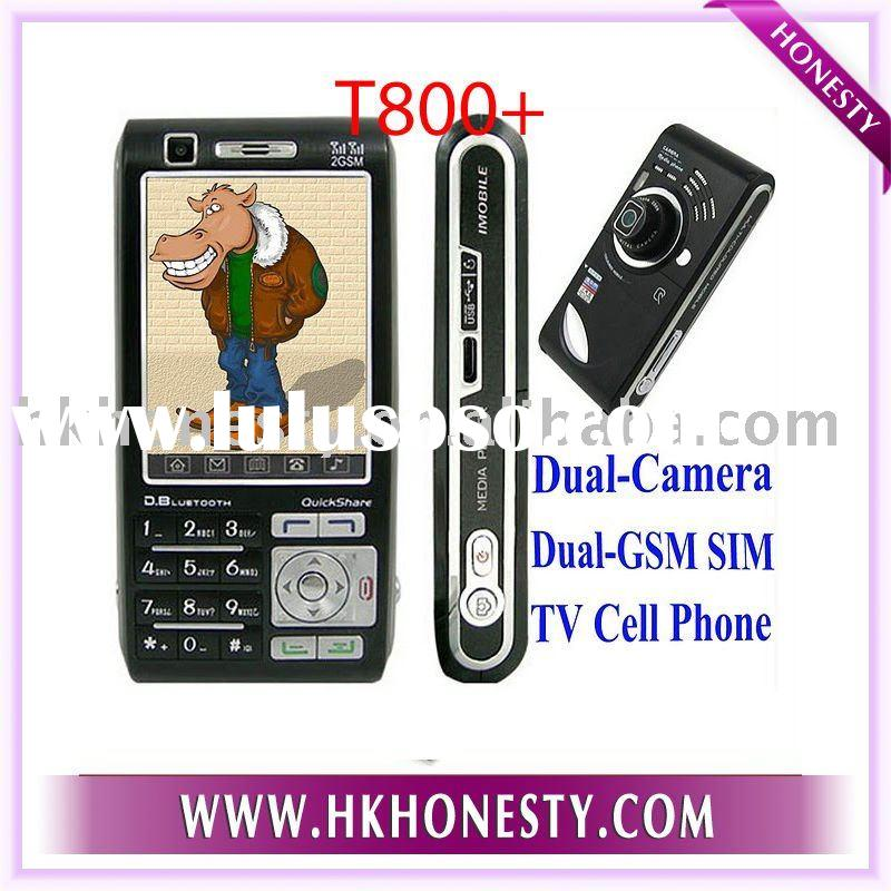 2.8'touch screen TV cell phone,Handphone T800+