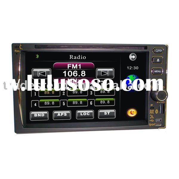 "2 Din 6.2"" Touch Screen Car DVD Player FM Radio/Bluetooth/TV Tuner/GPS"