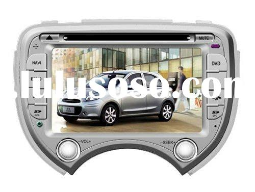 2 Din 7 inch Nissan March Car DVD Player with GPS/Bluetooth/Double Zone/PIP/IPOD/Steering wheel cont