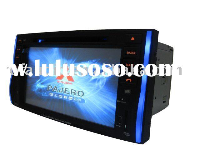 2 din car dvd player with gps for Mitsubishi Pajero