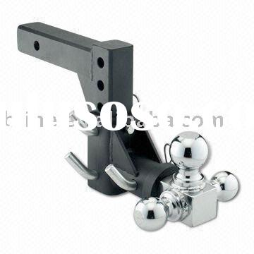 2 x 2-inch Solid Shank and Chrome-plated Ball Adjustable Triball Mount