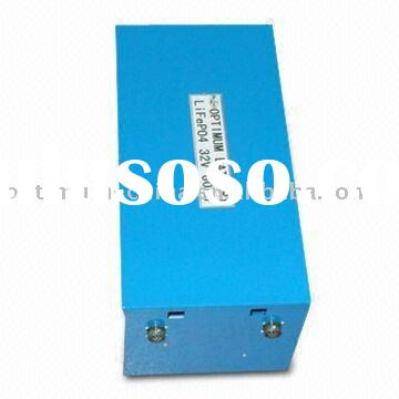 32V 60Ah LiFePo4 battery pack used in electric vehicles, UPS, domestic appliance.etc