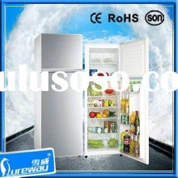 350L Popular Refrigerator Freezer / Fridge with CE ROHS SONCAP