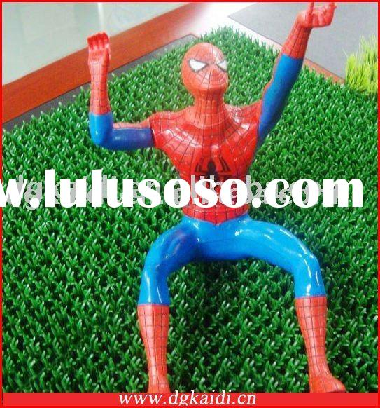 3D Plastic Spider-man Action Figure Crafts