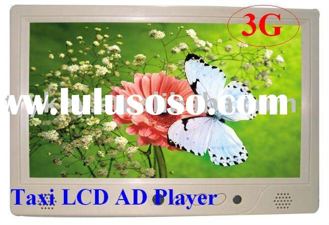 "3G Taxi Advertising player,7"" taxi LCD advertising player"