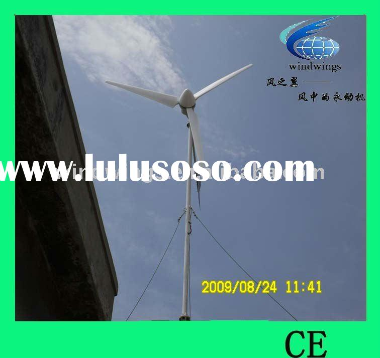 3KW WIND TURBINE FOR HOME,GREEN GENERATOR POWER SYSTEM
