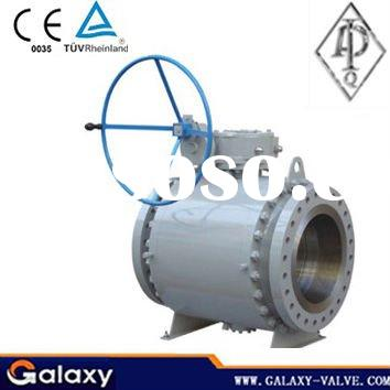 3PC Cast Steel Trunnion Mounted Ball Valve,API Approved