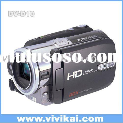 "3.0"" LCD digital video camera with 5x optical zoom"