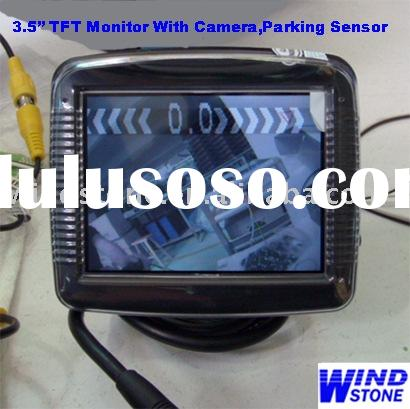 3.5 inch Car TFT Monitor With Camera+Video Car Parking Sensor System(RD735)