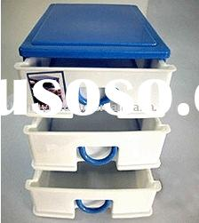 3 layer plastic drawer, plastic furniture, storage cabinet