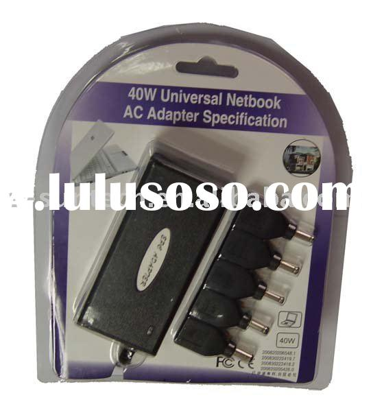 40W MINI Universal power adapter travel adapter for laptop