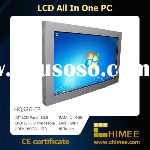 "42"" LCD PC TV (Full HD 1080p, i3 i5 i7 available, IR Touch Screen optional) (10.4~65"")"