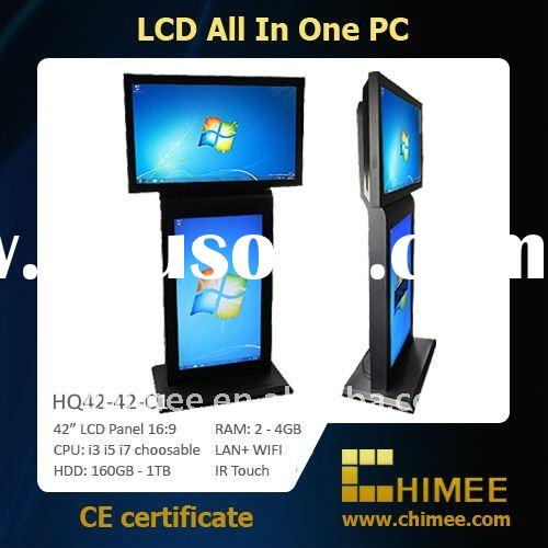 "42"" LCD Touch PC (Full HD 1080p, Double Screen, i3 i5 i7 available) (10.4'~65'&"