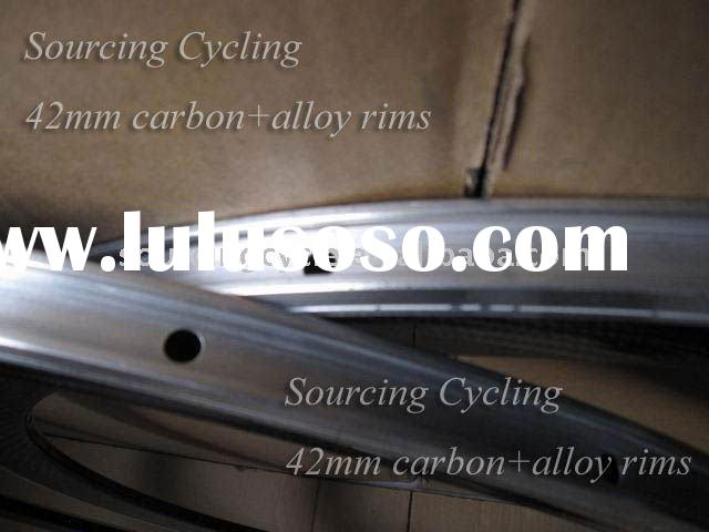 42mm Alloy +carbon bicycle wheels rims clincher best price